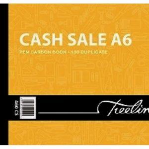 Treeline Pen Carbon Book Cash Sale Duplicate A6