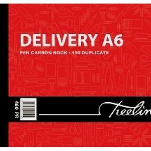Treeline Pen Carbon Book Delivery Duplicate A6