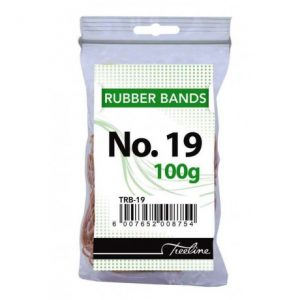 Treeline Rubber Bands 100g – No 19