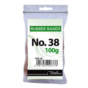 Treeline Rubber Bands 100g – No 38