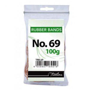 Treeline Rubber Bands 100g – No 69