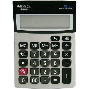 Trefoil – Desktop 4606 Calculator 12 Digit