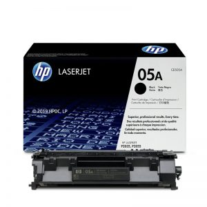HP 05A Black Original Toner Cartridge – CE505A
