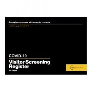 RBE Covid-19 Visitor Screening Register