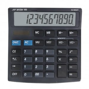 SDS 100 Desktop Calculator 12 Digit