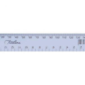 Treeline 15cm Ruler – Clear
