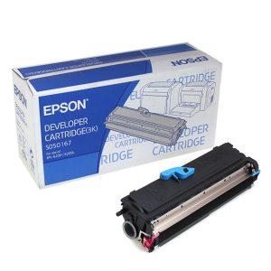 Epson S050167 Original Black Toner Cartridge (C13S050167)