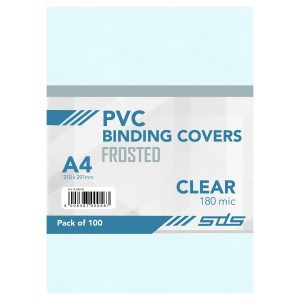 SDS – A4 Binding Cover CLEAR 180Micron