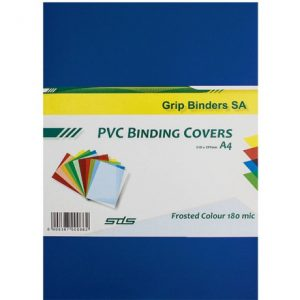 SDS – A4 Binding Cover Frosted 180Micron – BLUE