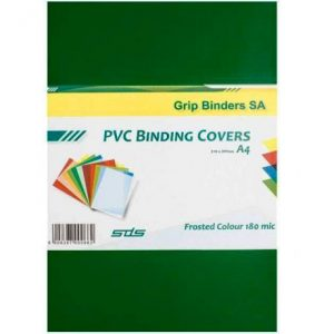 SDS – A4 Binding Cover Frosted 180Micron – Green
