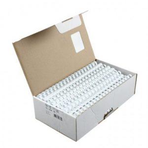 Binder Comb Element Plastic 170 Sheet 20mm Wht (100)
