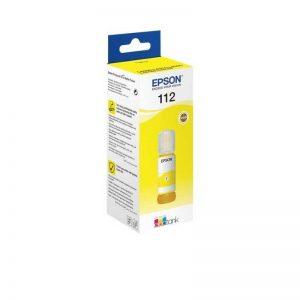 Epson 112 EcoTank Pigment Yellow Original Ink Bottle – T06C44A