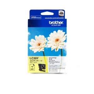 Brother LC-39Y Yellow Original Ink Cartridge – LC 39Y