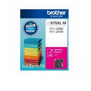 Brother LC-675 XL Magenta Original High Yield Ink Cartridge – LC 675 XLM
