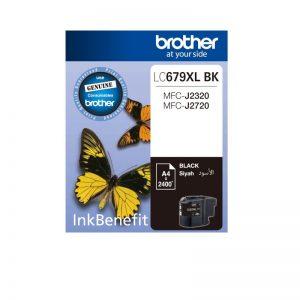 Brother LC-679 XL Black Original High Yield Ink Cartridge – LC 679 XLBK