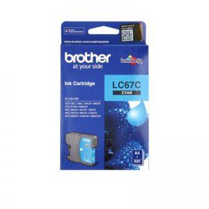 Brother LC-67C Cyan Original Ink Cartridge – LC 67C