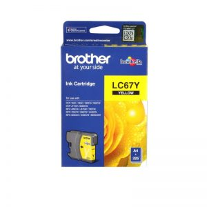 Brother LC-67Y Yellow Original Ink Cartridge – LC 67Y